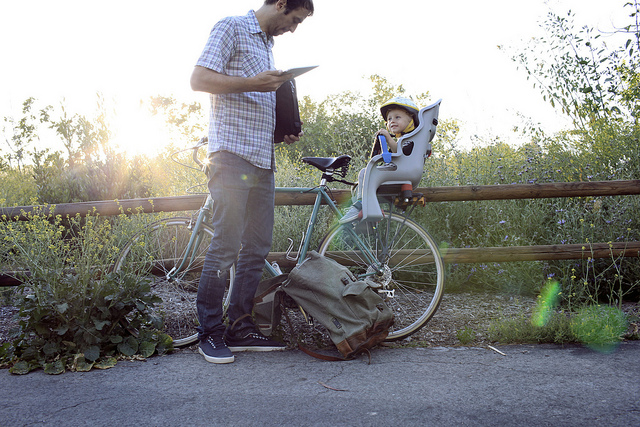 Kids Rear Mounted Bike Seat